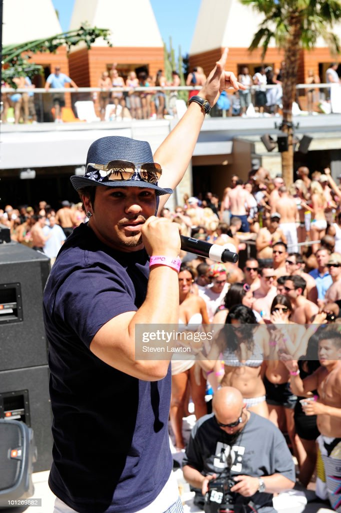 Singer Baby Bash performes at the 2nd annual 'Love Festival' at The Palms Casino Resort on May 29, 2010 in Las Vegas, Nevada.