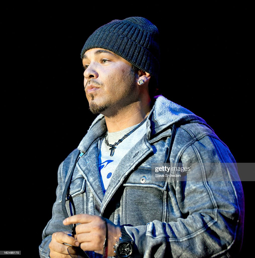 R&B singer <a gi-track='captionPersonalityLinkClicked' href=/galleries/search?phrase=Baby+Bash&family=editorial&specificpeople=233817 ng-click='$event.stopPropagation()'>Baby Bash</a> performs at Route 66 Casino's Legends Theater on FEBRUARY 23, 2013 in Albuquerque, New Mexico.