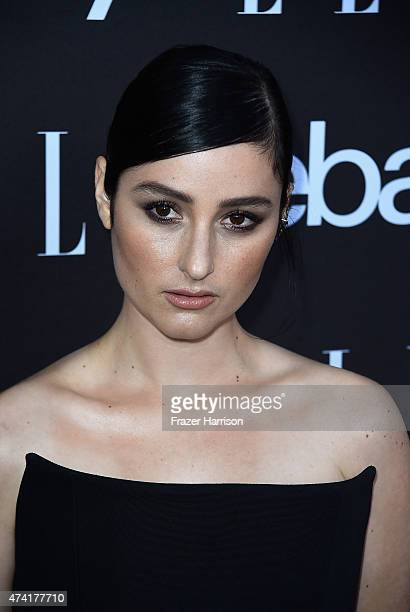 Singer Banks arrives at the 6th Annual ELLE Women In Music Celebration Presented By eBayat Boulevard3 on May 20 2015 in Hollywood California