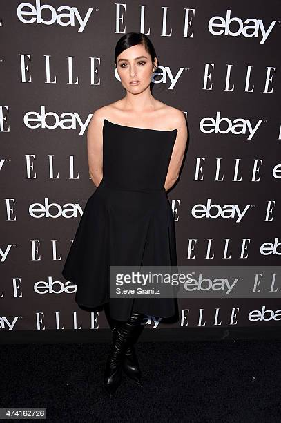 Singer Banks attends the 6th Annual ELLE Women In Music Celebration Presented By eBay Hosted by Robbie Myers with performances by Alanis Morissette...
