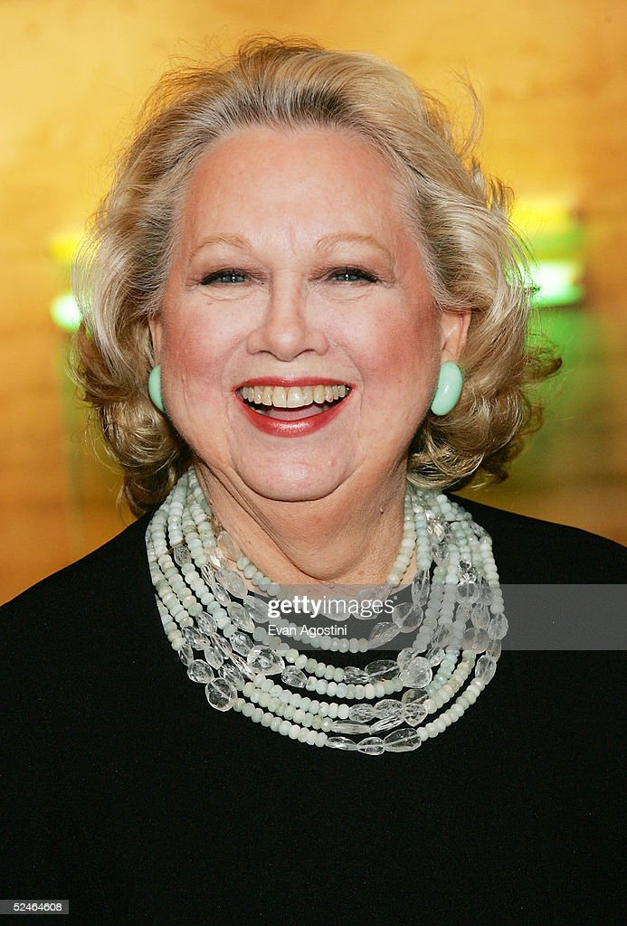 Singer Barbara Cook attends 'Children And Art' Honoring Stephen Sondheim's 75th Birthday post-show dinner at The Four Seasons on March 21, 2005 in New York City.