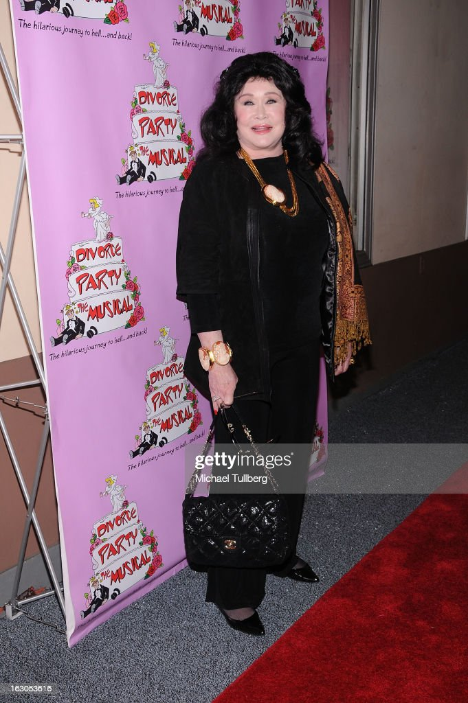 Singer Barbara Van Orden attends the opening night performance of 'Divorce Party - The Musical' at El Portal Theatre on March 3, 2013 in North Hollywood, California.