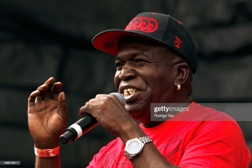 Singer Barrington Levy performs at the 27th Annual JazzReggae Festival - Day 2 at UCLA on May 27, 2013 in Los Angeles, California.