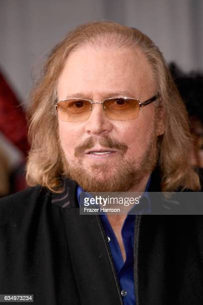 Singer Barry Gibb attends The 59th GRAMMY Awards at STAPLES Center on February 12 2017 in Los Angeles California