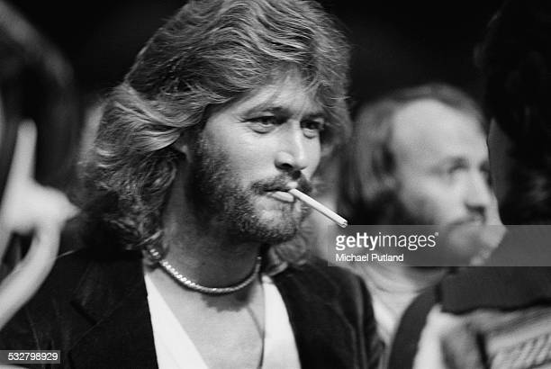 Singer Barry Gibb of the Bee Gees at 'The Music for UNICEF Concert A Gift of Song' benefit concert held at the United Nations General Assembly in New...