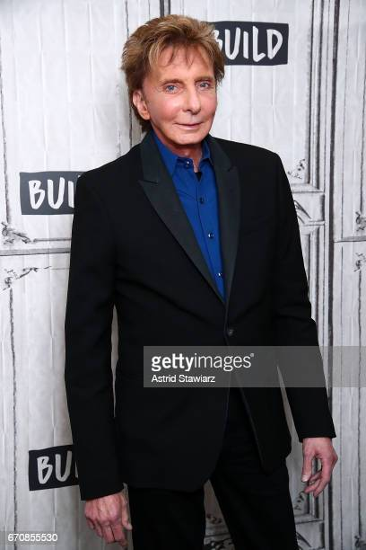 Singer Barry Manilow discusses his album 'This Is My Town Songs Of New York' at Build Studio on April 20 2017 in New York City