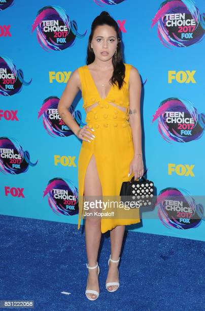 Singer Bea Miller arrives at the Teen Choice Awards 2017 at Galen Center on August 13 2017 in Los Angeles California