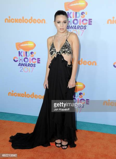 Singer Bea Miller at Nickelodeon's 2017 Kids' Choice Awards at USC Galen Center on March 11 2017 in Los Angeles California