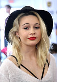 Singer Bea Miller attends Radio Row at Nokia Theatre LA Live on November 22 2014 in Los Angeles California