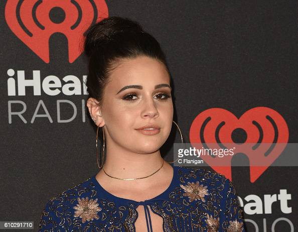 Singer Bea Miller attends the 2016 iHeartRadio Music Festival Night 2 at TMobile Arena on September 24 2016 in Las Vegas Nevada
