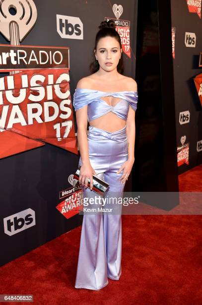 Singer Bea Miller attends the 2017 iHeartRadio Music Awards which broadcast live on Turner's TBS TNT and truTV at The Forum on March 5 2017 in...