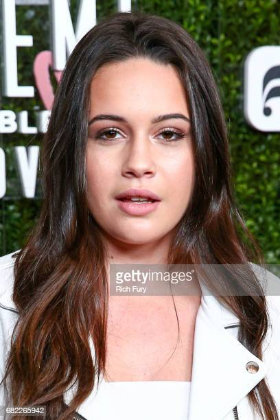 Singer Bea Miller attends the launch of Fabletics Capsule Collection at the Beverly Hills Hotel on May 10 2017 in Los Angeles California
