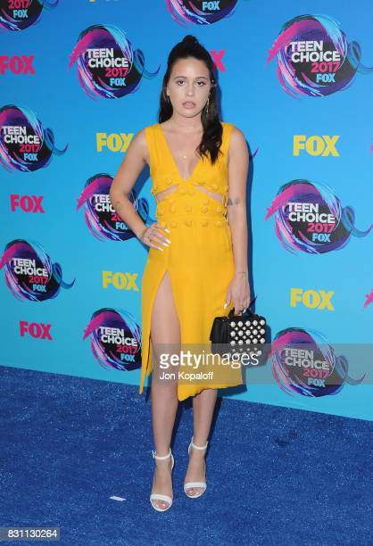 Singer Bea Miller attends the Teen Choice Awards 2017 at Galen Center on August 13 2017 in Los Angeles California