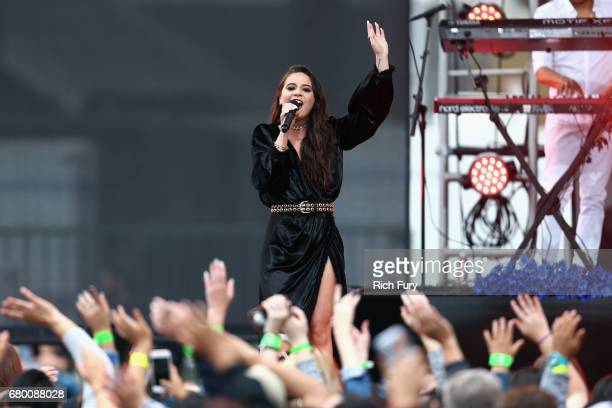 Singer Bea Miller performs at the 2017 MTV Movie And TV Awards Festival at The Shrine Auditorium on May 7 2017 in Los Angeles California