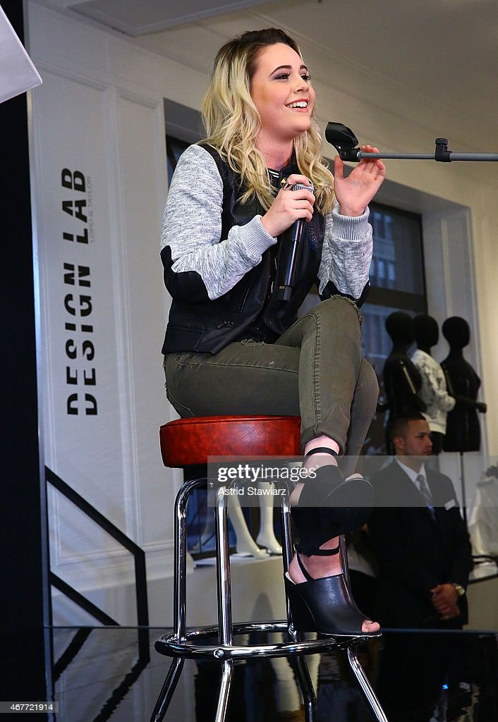 Singer bea miller performs during the lord amp taylor launch of design