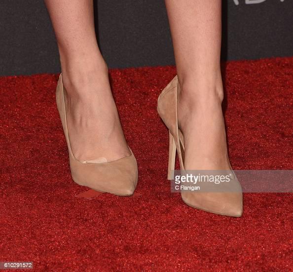 Singer Bea Miller shoe detail attends the 2016 iHeartRadio Music Festival Night 2 at TMobile Arena on September 24 2016 in Las Vegas Nevada
