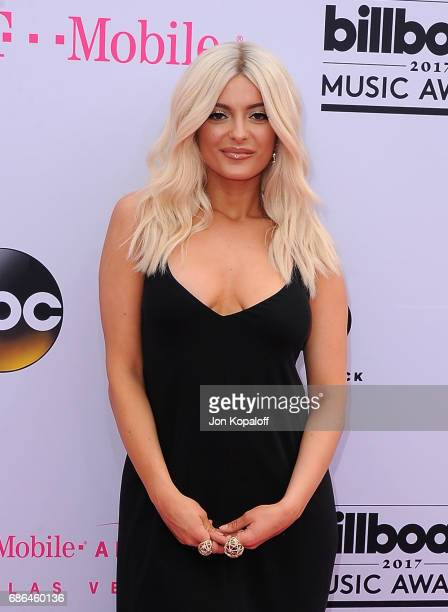 Singer Bebe Rexha attends the 2017 Billboard Music Awards at TMobile Arena on May 21 2017 in Las Vegas Nevada