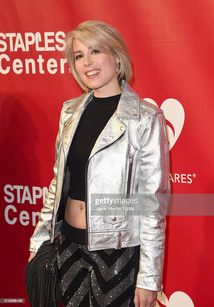 Singer Beca attends the 2016 MusiCares Person of the Year honoring Lionel Richie at the Los Angeles Convention Center on February 13, 2016 in Los Angeles, California.