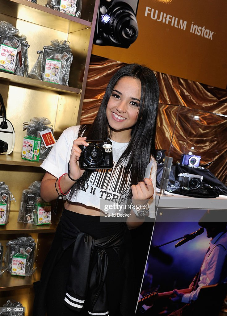 Singer Becky G attends a gift lounge during the 14th annual Latin GRAMMY Awards at the Mandalay Bay Events Center on November 18, 2013 in Las Vegas, Nevada.