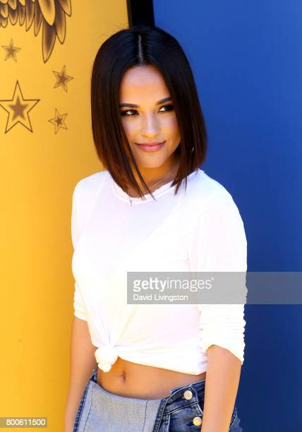 Singer Becky G attends the premiere of Universal Pictures and Illumination Entertainment's 'Despicable Me 3' at The Shrine Auditorium on June 24 2017...