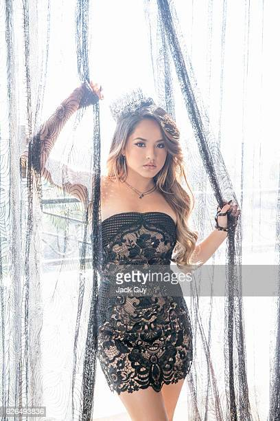Singer Becky G is photographed for Latina Magazine on December 2 2015 in Los Angeles California PUBLISHED IMAGE