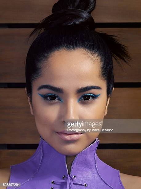 Singer Becky G is photographed for The Untitled Magazine on January 22 2014 in New York City CREDIT MUST READ Indira Cesarine/The Untitled...