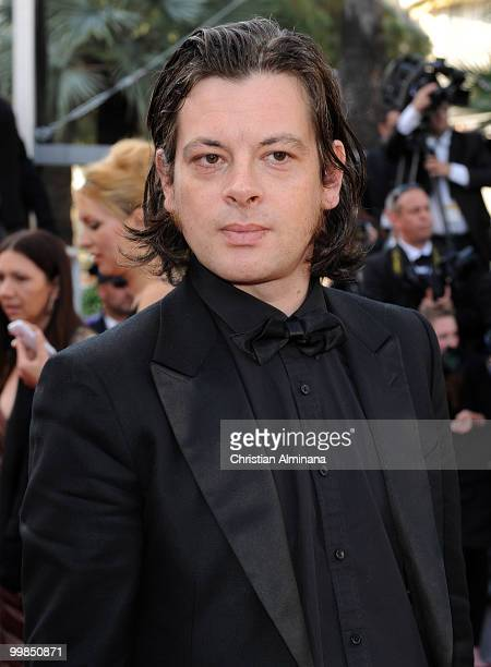 Singer Benjamin Biolay attends 'Biutiful' Premiere at the Palais des Festivals during the 63rd Annual Cannes Film Festivalon May 17 2010 in Cannes...