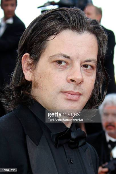 Singer Benjamin Biolay attends the premiere of 'Biutiful' held at the Palais des Festivals during the 63rd Annual International Cannes Film Festival...