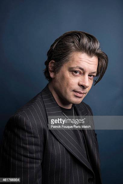 Singer Benjamin Biolay is photographed for Paris Match on December 8 2014 in Paris France