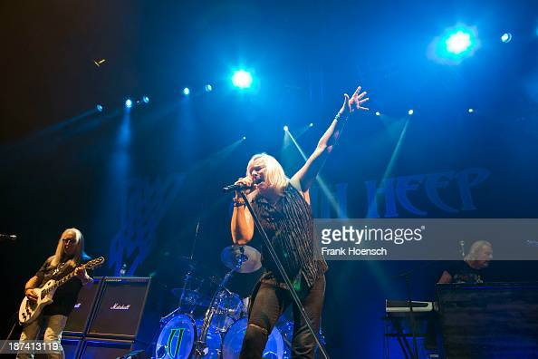 Singer Bernie Shaw of Uriah Heep performs live in support of Status Quo during a concert at the MaxSchmelingHalle on November 8 2013 in Berlin Germany