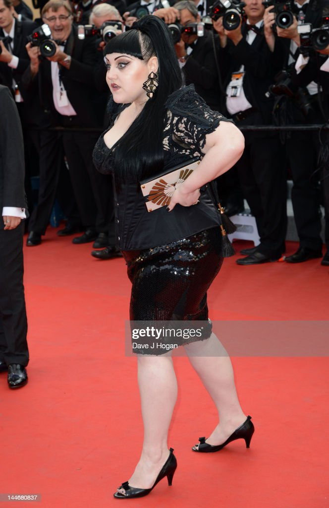 Singer Beth Ditto attends the 'De Rouille et D'os' Premiere during the 65th Annual Cannes Film Festival at Palais des Festivals on May 17, 2012 in Cannes, France.