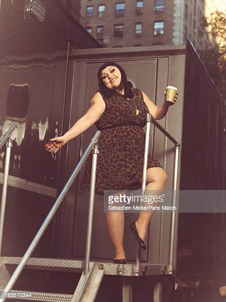 Singer Beth Ditto is photographed for Paris Match on September 19 2013 in New York City