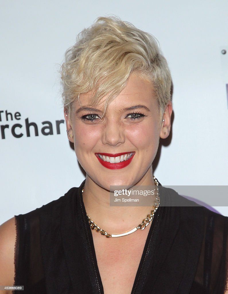 Singer Betty Who attends the Women In Music presents their 2013 holiday party at Le Poisson Rouge on December 4, 2013 in New York City.