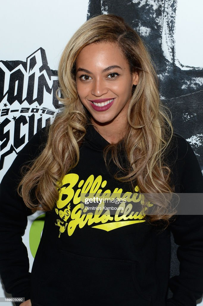 Singer Beyoncé attends the 10th anniversary party of Billionaire Boys Club presented by HTC at Tribeca Canvas on June 4, 2013 in New York City.