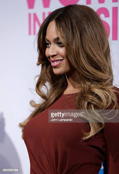 Singer Beyonce attends 2014 Billboard Women In Music Luncheon at Cipriani Wall Street on December 12 2014 in New York City