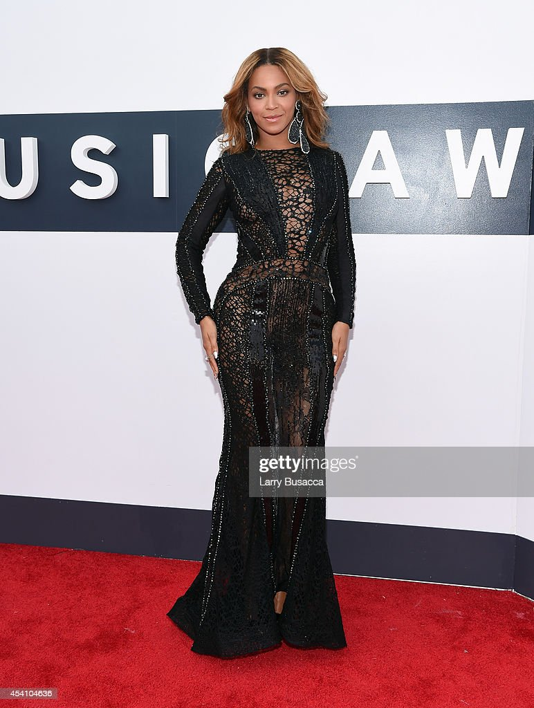 Singer Beyonce attends the 2014 MTV Video Music Awards at The Forum on August 24, 2014 in Inglewood, California.
