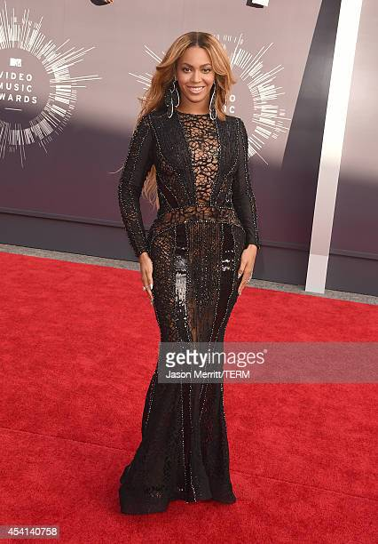 Singer Beyonce Knowles attends the 2014 MTV Video Music Awards at The Forum on August 24 2014 in Inglewood California