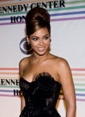Singer Beyonce Knowles poses for a photo on the red carpet at the 31st Annual Kennedy Center Honors at the Hall of States inside the John F Kennedy...