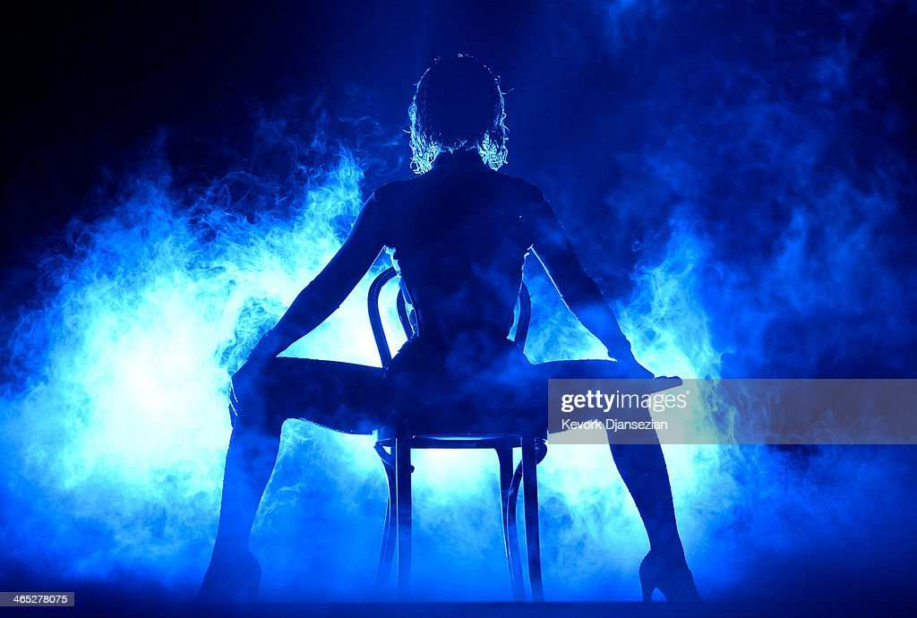 Singer Beyonce performs onstage during the 56th GRAMMY Awards at Staples Center on January 26, 2014 in Los Angeles, California.