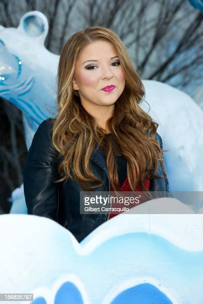 Singer Bianca Ryan attends the 93rd annual Dunkin' Donuts Thanksgiving Day Parade on November 22 2012 in Philadelphia Pennsylvania