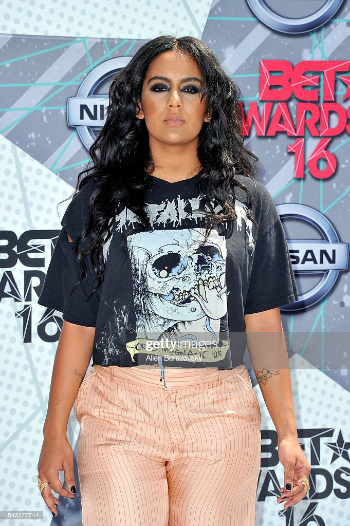Singer Bibi Bourelly attends the 2016 BET Awards at Microsoft Theater on June 26, 2016 in Los Angeles, California.