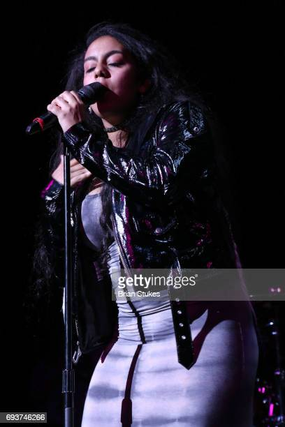 Singer Bibi Bourelly performs onstage during WPGC'S 30th Annual Birthday Bash at Howard Theatre on June 7 2017 in Washington DC