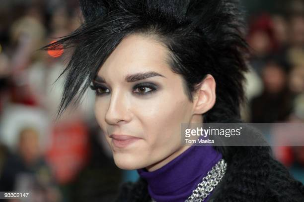 Singer Bill Kaulitz from Tokio Hotel attends the 'Arthur Und Die Minimoys 2' premiere at Sony Center on November 22 2009 in Berlin Germany