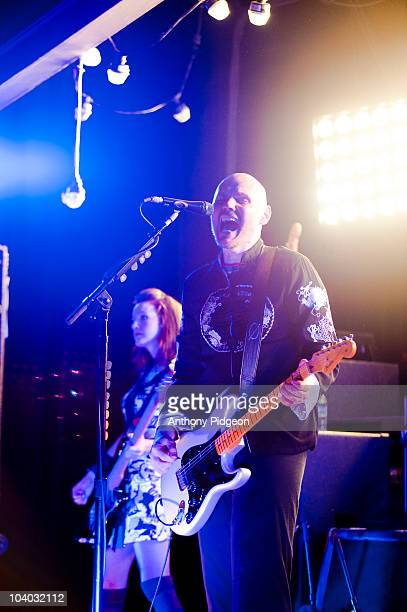 Singer Billy Corgan of The Smashing Pumpkins performs at the Wonder Ballroom during Musicfest NW on September 11 2010 in Portland Oregon