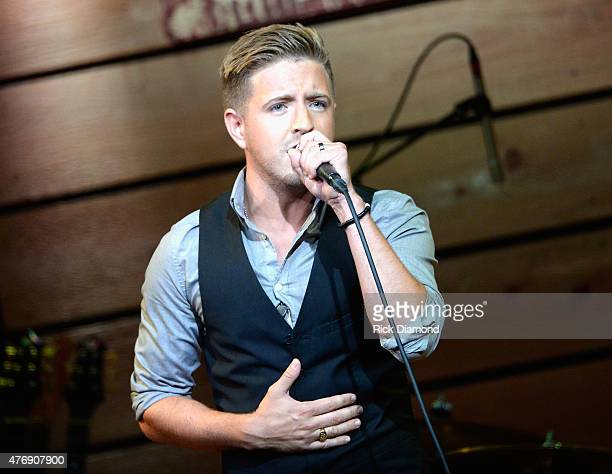 Singer Billy Gilman performs onstage at The Concert For Love And Acceptance at City Winery Nashville on June 12 2015 in Nashville Tennessee