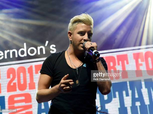 Singer Billy Gilman performs onstage during the 2017 Concert for Love Acceptance on June 8 2017 in Nashville Tennessee