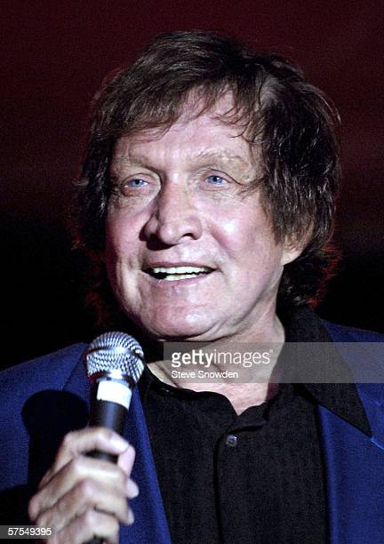 Singer Billy Joe Royal performs at Sky City Casino Showroom on May 6 2006 in Acoma New Mexico Royal placed 4 of his recordings into the Billboard Top...