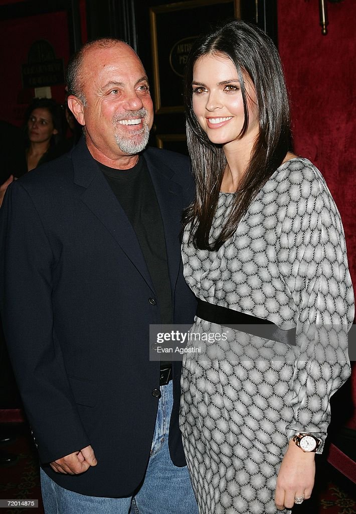 Singer Billy Joel and his wife Katie Lee Joel attend the Warner Bros. Pictures premiere of 'The Departed' at the Ziegfeld Theatre September 26, 2006 in New York City.