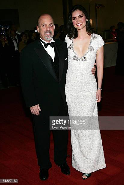 Singer Billy Joel and wife Kate Lee arrive at the 27th Annual Kennedy Center Honors Gala at The Kennedy Center for the Performing Arts December 5...