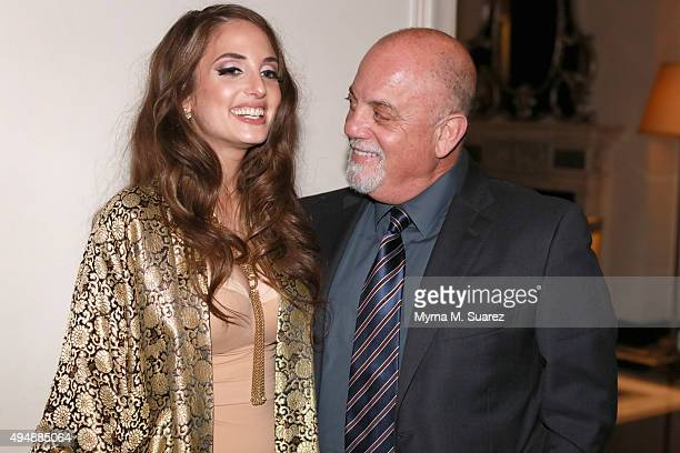 Singer Billy Joel attends his daughter Alex Ray Joel on her sold out performance at Cafe Carlyle on October 29 2015 in New York City